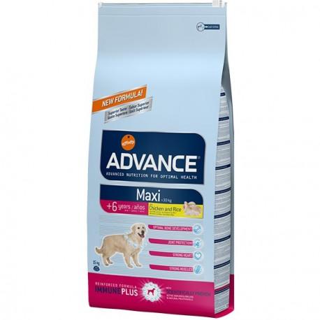 Advance Maxi Senior Chicken & Rice 15 Kg