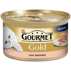 Gourmet Gold Souffle con Salmon 85 gr