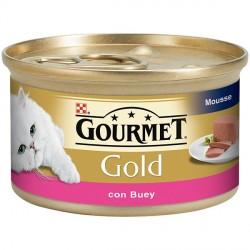 Gold Mousse con Buey 85 gr