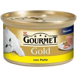 Gourmet Gold Mousse con Pollo 85 gr