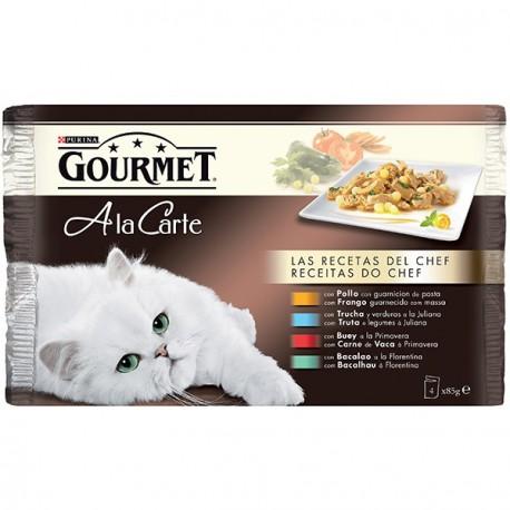 Gourmet A la Carte Recetas del Chef 340 gr