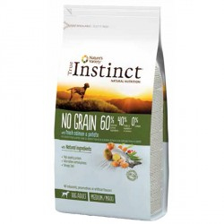 True Instinct No Grain Medium Salmon 12 Kg