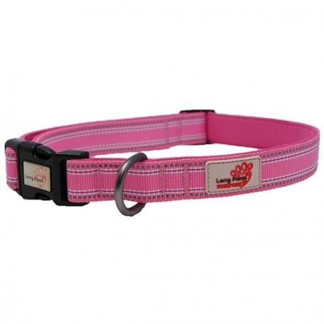 Long Paws Confort Collar Pink XS