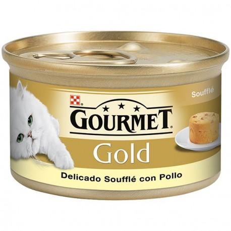 Gourmet Gold Souffle con Pollo 85 gr