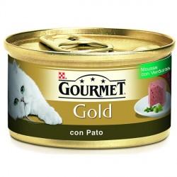 Gourmet Gold Mousse con Pato y Espinacas 85 gr