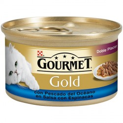 Gourmet Gold Doble Placer 85 gr