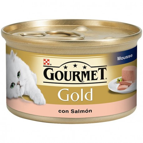 Gourmet Gold Mousse con Salmon 85 gr
