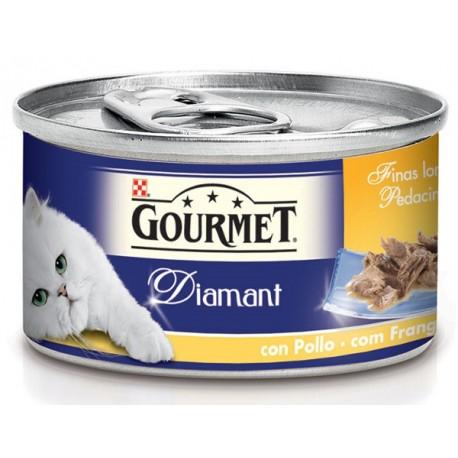 Gourmet Diamant con Pollo 85 gr