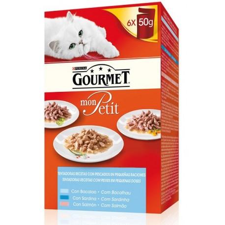 Gourmet Gold Mon Petit Seleccion Pescados 300 gr