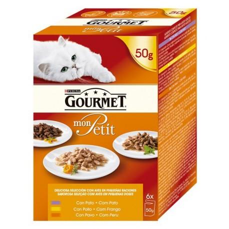 Gourmet Gold Mon Petit Seleccion Aves 300 gr