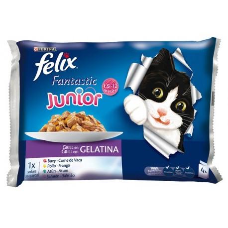 Felix Junior Grill en Gelatina 400 gr
