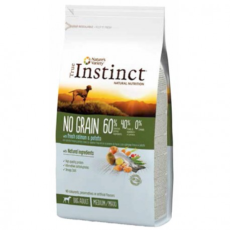 True Instinct No Grain Medium Salmon 12 Kg