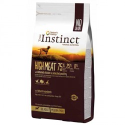 True Instinct High Meat con Pollo 12 Kg