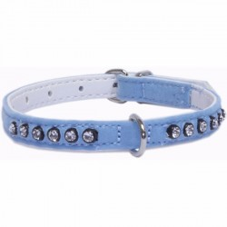 Collar Velvet Azul 92488
